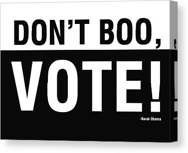 Vote Canvas Prints