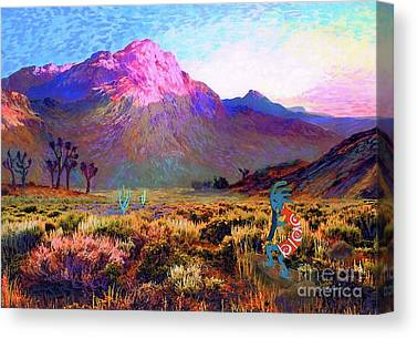 Southern Utah Paintings Canvas Prints