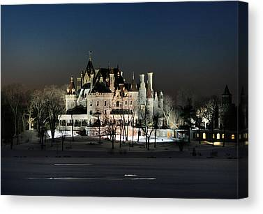 Boldt Castle Canvas Prints