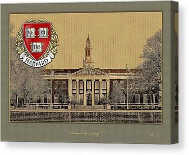 Harvard University Canvas Prints