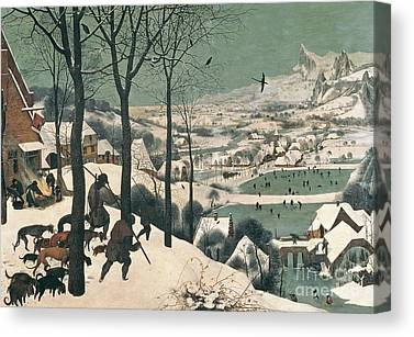 Snow Scenes Canvas Prints