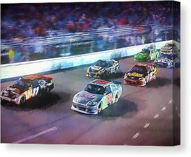 Hendrick Motorsports Canvas Prints