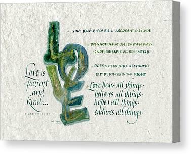 Spiritual Strength Canvas Prints