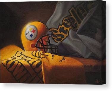 Steelers Canvas Prints
