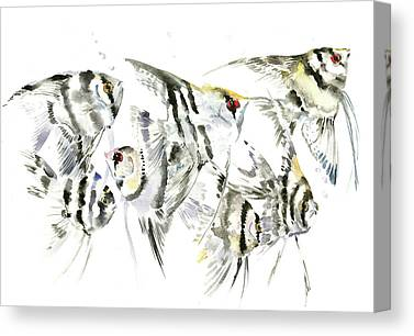 Animals And Feng Shui Art Canvas Prints