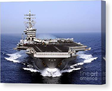 Aircraft Carrier Canvas Prints