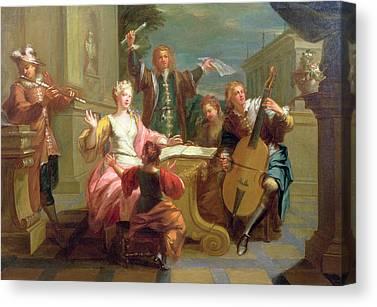 18th Century Photographs Canvas Prints