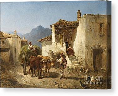 Warville Paintings Canvas Prints