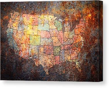 Rustic Digital Art Canvas Prints