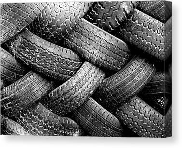 Tires Canvas Prints