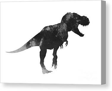 Dinosaurs Canvas Prints