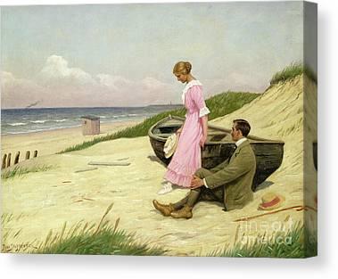 Shoreline Old Men Canvas Prints