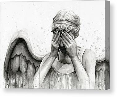Angels Canvas Prints