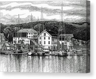 Farsund Canvas Prints