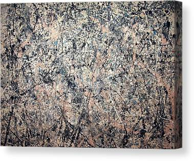 Jackson Pollock Canvas Prints