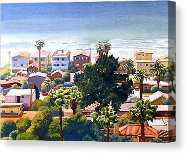 Seaview Canvas Prints