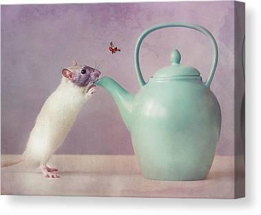 Teapot Canvas Prints