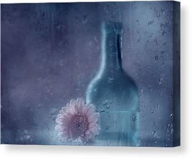 Water Bottle Canvas Prints
