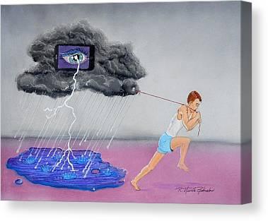 Behavioral Mixed Media Canvas Prints