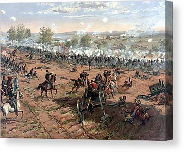 Battlefields Canvas Prints