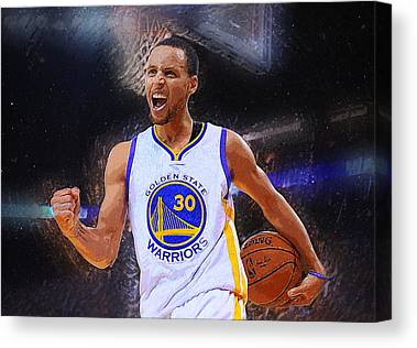 Golden State Warriors Canvas Prints