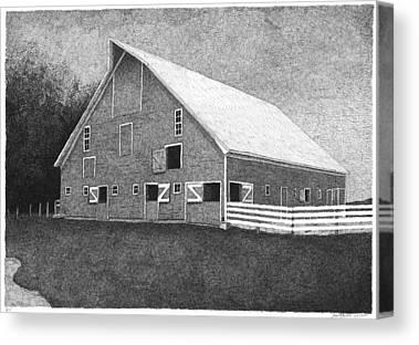 Stromeyer Barn Canvas Prints