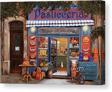 Shop Front Canvas Prints