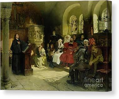 Lutheran Canvas Prints
