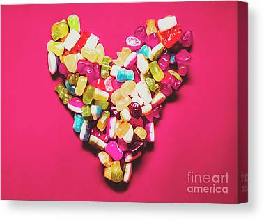 Gummy Candy Canvas Prints