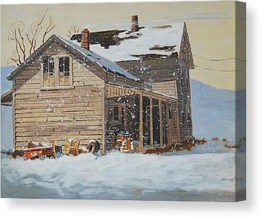 Berkshires Of New England Canvas Prints