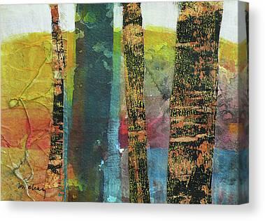 Small Trees Canvas Prints