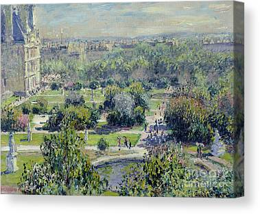 Tuileries Canvas Prints
