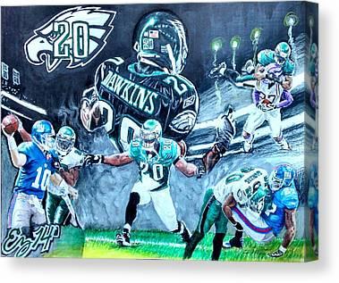 Philadelphia Phillies Stadium Mixed Media Canvas Prints