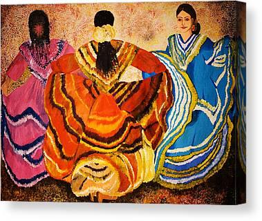 Mexican Fiesta Canvas Prints