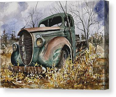 39 Ford Canvas Prints