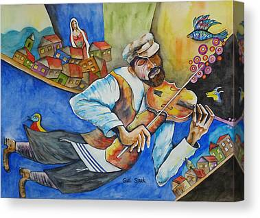 Fiddler On The Roof Canvas Prints