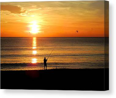 South Hutchinson Island Canvas Prints