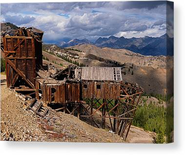 Old Gold Mine Canvas Prints