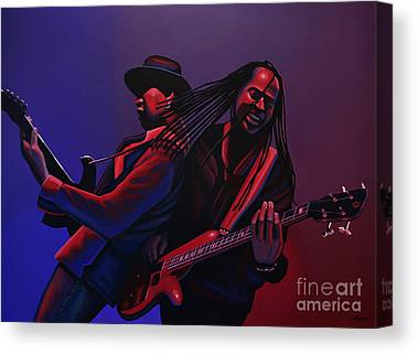 Free Jazz Canvas Prints