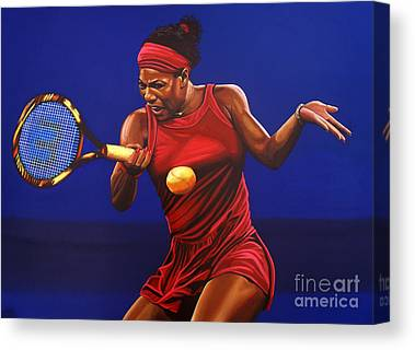 Serena Williams Canvas Prints