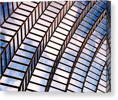Glass And Metal Art Canvas Prints