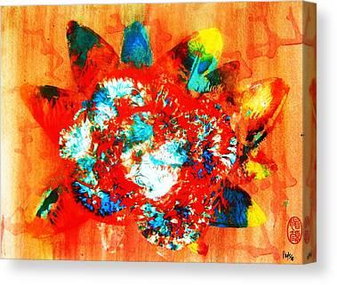 Stellar Paints On Canvas Prints