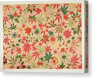 Blockprint Canvas Prints