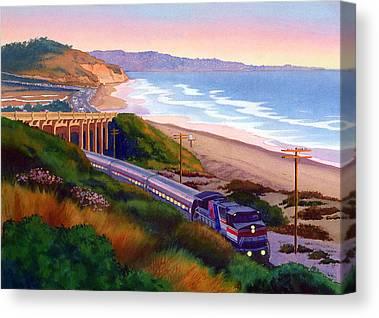 Commute Canvas Prints