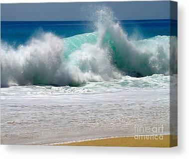 Wave Photographs Canvas Prints