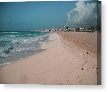 Sky Blue Digital Art Canvas Prints