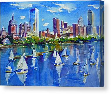 Charles River Paintings Canvas Prints