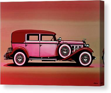 Custom Ford Mixed Media Canvas Prints