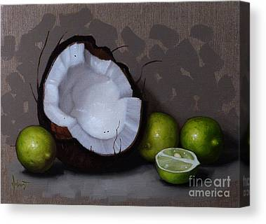 Coconut Canvas Prints