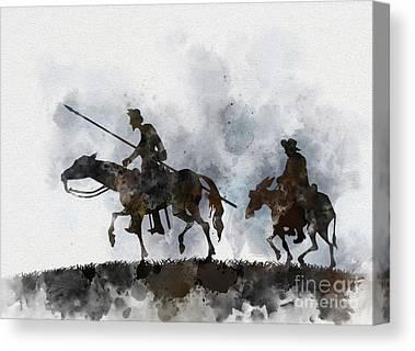 La Mancha Canvas Prints